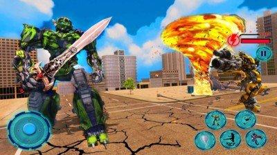 超级龙卷风机器人英雄软件截图2