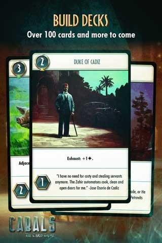 阴谋卡牌游戏Cabals