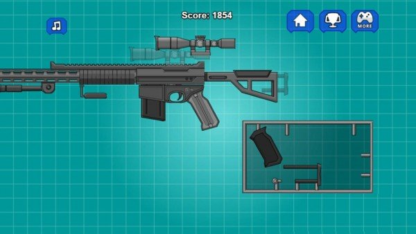 组装玩具狙击枪