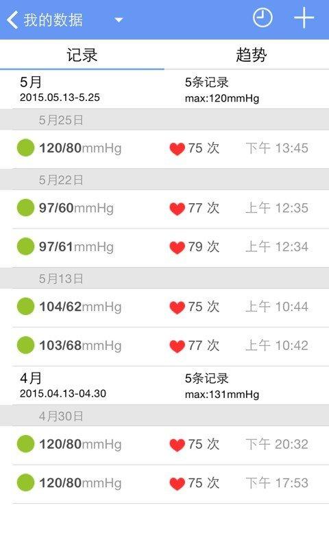 血压管家软件截图1