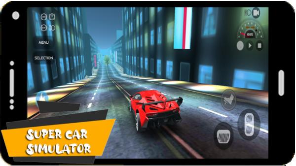 超级汽车现代模拟器软件截图3