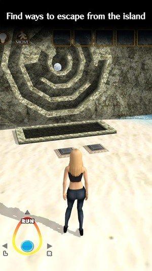 少女孤岛逃脱软件截图2