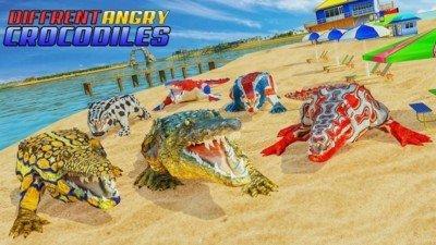 吃人鳄鱼模拟器软件截图0