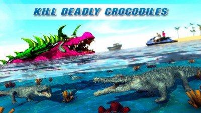 机器人鳄鱼模拟器软件截图2