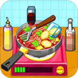 制作泰国料理厨房做饭