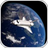 太空飞行驶离地球
