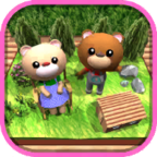 逃脱游戏森林里的小熊屋
