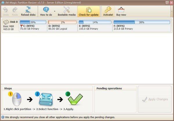 IM-Magic Partition Resizer(硬盘分区工具)下载