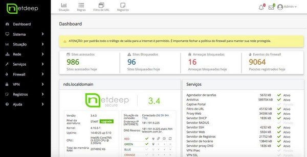Netdeep Secure Firewall(开源防火墙)下载