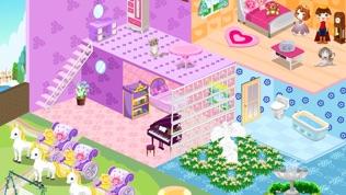 公主娃娃屋房間設計