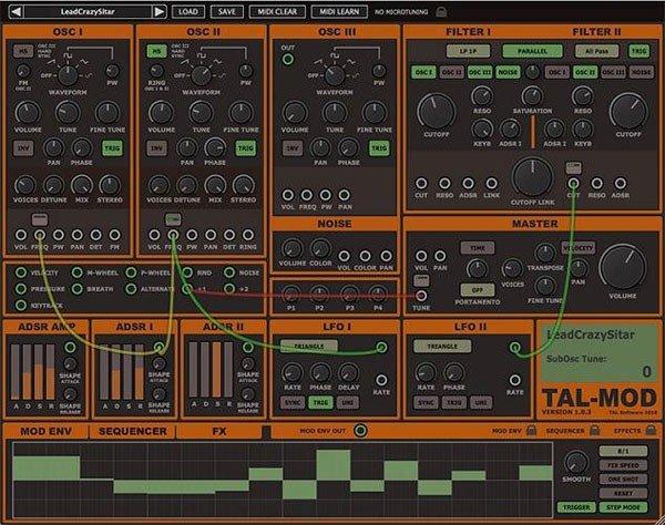Togu Audio Line TAL Mod(声音模拟合成软件)
