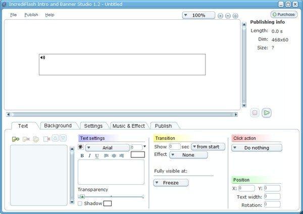 IncrediFlash Intro and Banner Studio(动画制作软件)下载