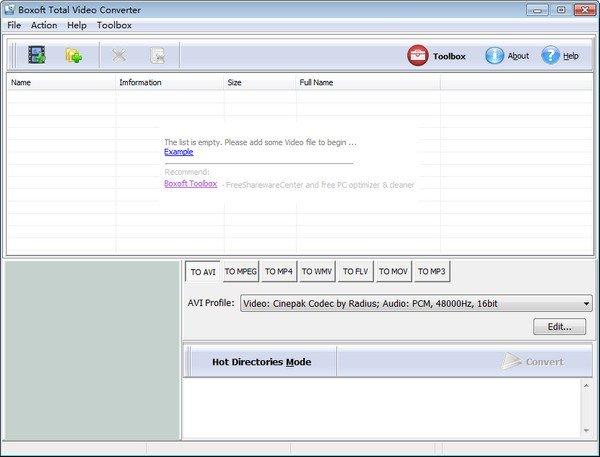 Boxoft Total Video Converter(AVI转换器)