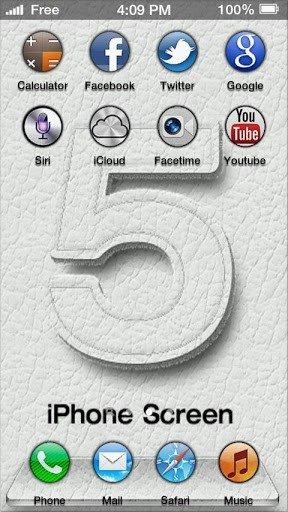 iPhone 5屏幕软件截图1