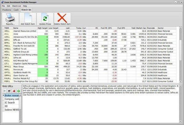 Zoom Investment Portfolio Manager(基金投资管理器)下载