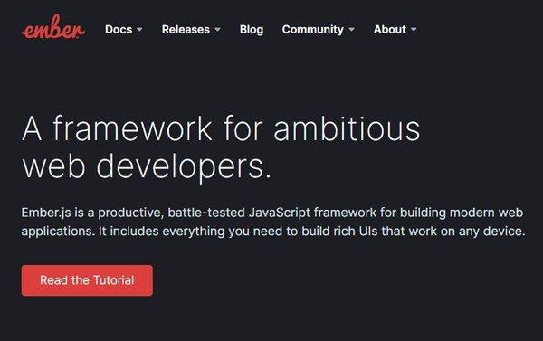 Ember.js(JavaScript框架)下载