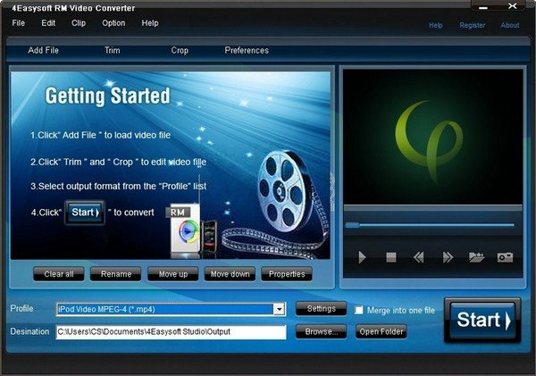 4Easysoft RM Video Converter(RM视频格式转换器)