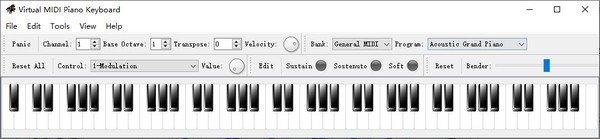 Virtual MIDI Piano Keyboard(虚拟MIDI钢琴键盘)下载