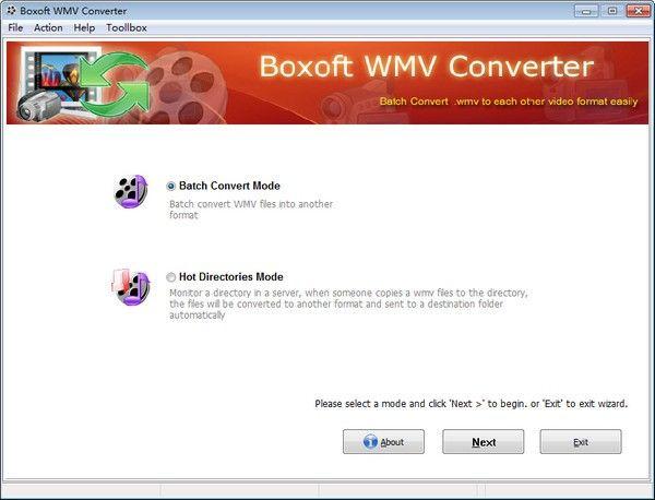 Boxoft WMV Converter(WMV视频格式转换软件)下载