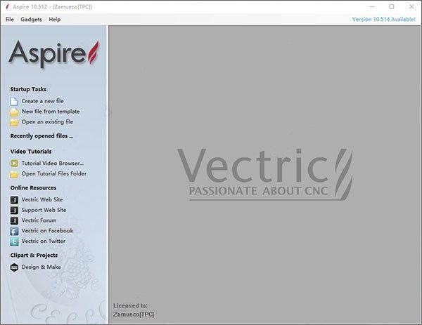 Vectric Aspire 10(浮雕设计工具)