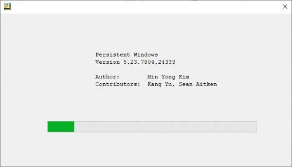 PersistentWindows(多屏调整工具)