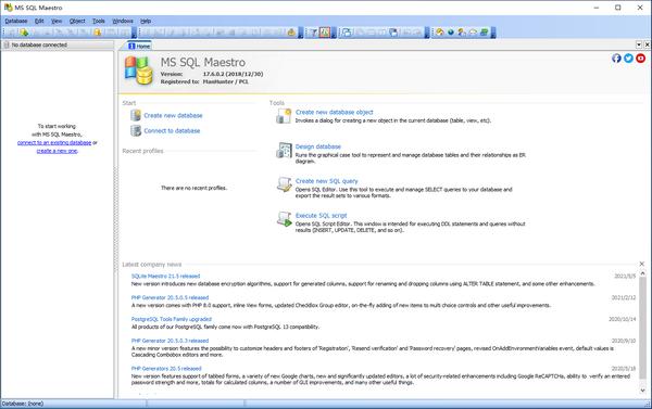 MS SQL Maestro(<a href=
