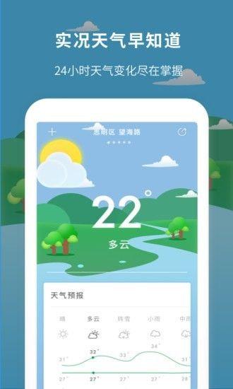 每日天气预报