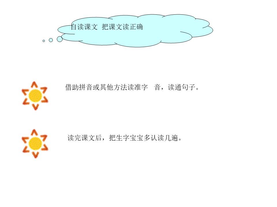 《四个太阳》PPT课件6下载