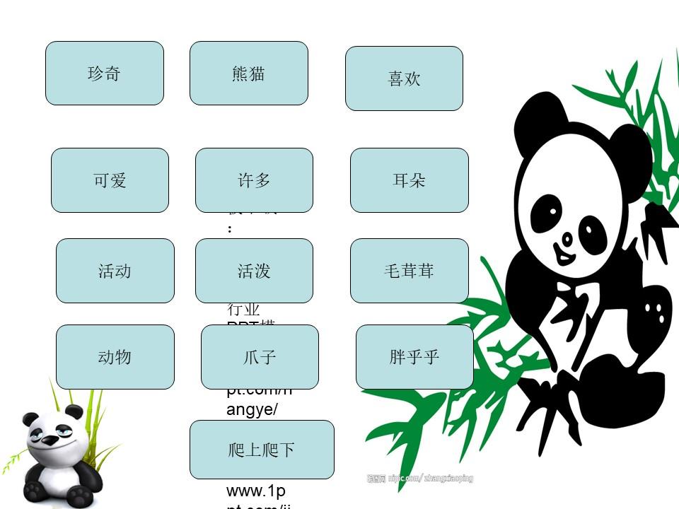 《大熊猫》PPT课件3下载