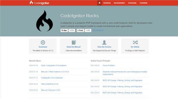 CodeIgniter(小巧PHP框架)