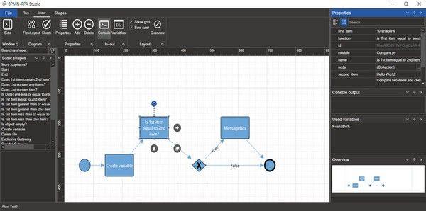 BPMN-RPA Studio(RPA机器人测试软件)