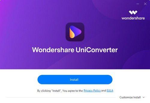 Wondershare uniconverter(全能格式转换器)