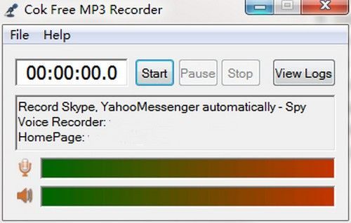 Cok Free MP3 Recorder(免费录音工具)
