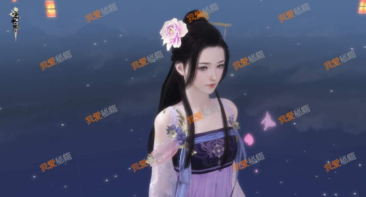 逆水寒宋代古典系列簪花头饰绍[多图]