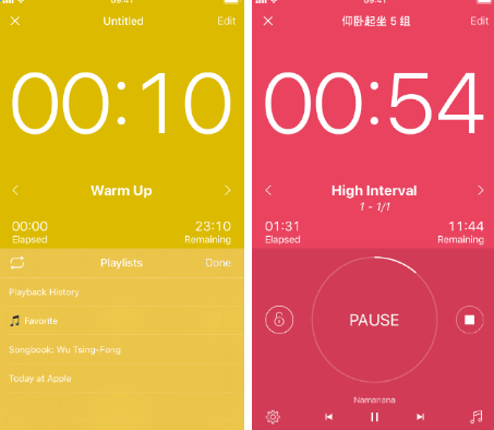 Interval Timer Pro: 计算健身用时 有计划地健身锻炼