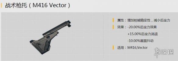 刺激战场如何正确选择枪托配件