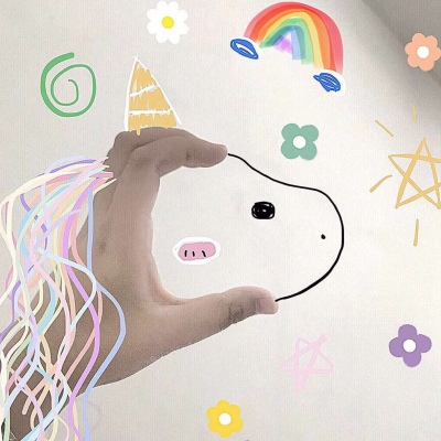 抖音独角兽怎么画  抖音独角兽简笔画图片分享