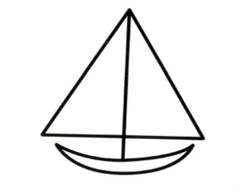 QQ画图红包帆船怎么画?qq画图红包帆船画法分享!