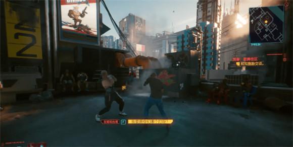 赛博朋克2077黑拳歌舞伎区上去方法介绍