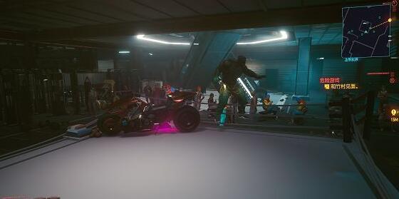 赛博朋克2077剃刀摩托车卡位打法攻略