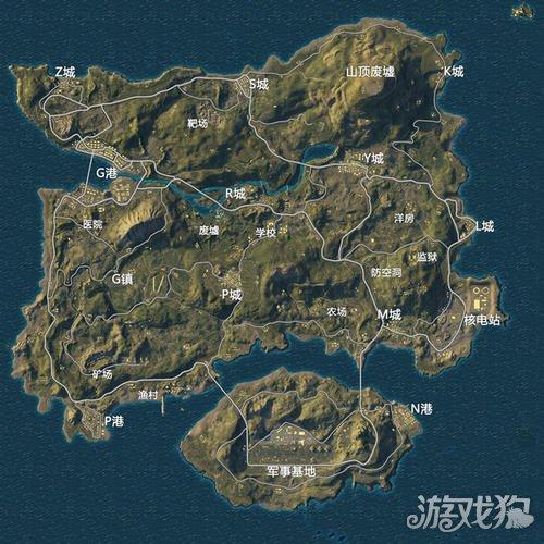 海岛图最适合打野的点 物资不输G港