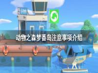《集合啦动物森友会》梦番岛要注意什么 梦番岛注意事项介绍
