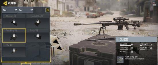 使命召唤手游狙击枪配件推荐 使命召唤手游狙击枪带什么配件