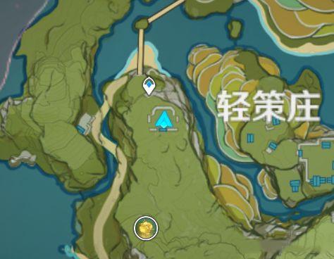 原神轻策庄瀑布后面的山洞进入方法分享[图]