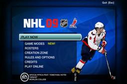 NHL冰球2009