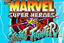 漫画英雄对街霸 (MSH VS SF)