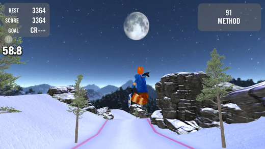 Crazy Snowboard软件截图1
