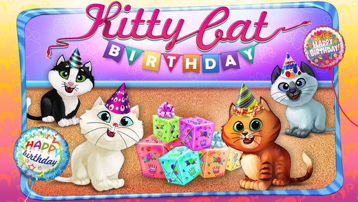 Kitty Cat Birthday Surprise软件截图0
