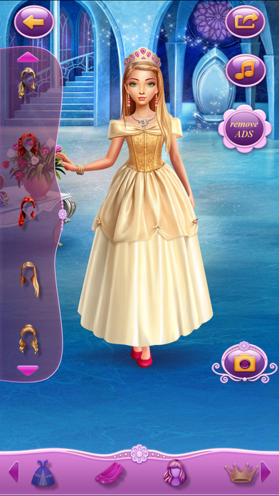 Dress Up Princess Sleeping Beauty软件截图0