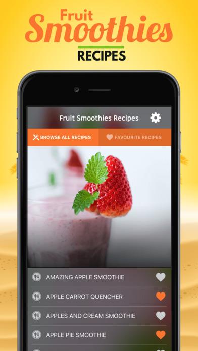 Fruit Smoothies Recipes软件截图0
